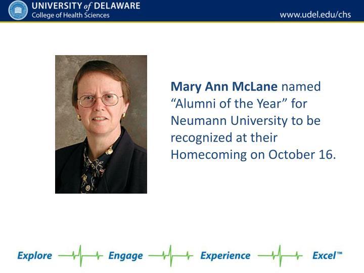 Mary Ann McLane