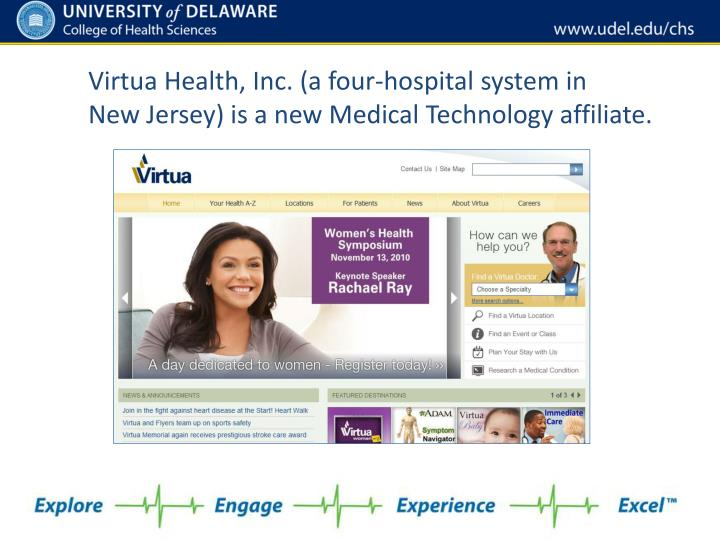 Virtua Health, Inc. (a four-hospital system in