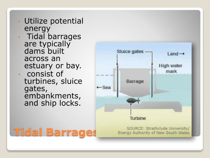 Utilize potential energy