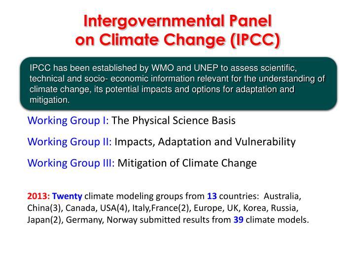 Intergovernmental Panel