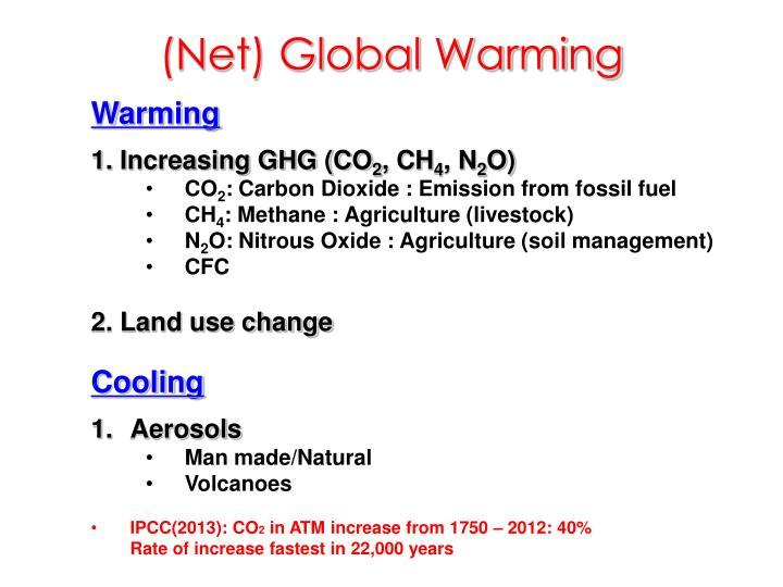 (Net) Global Warming