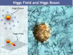 higgs field and higgs boson