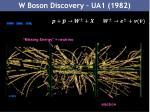 w boson discovery ua1 1982