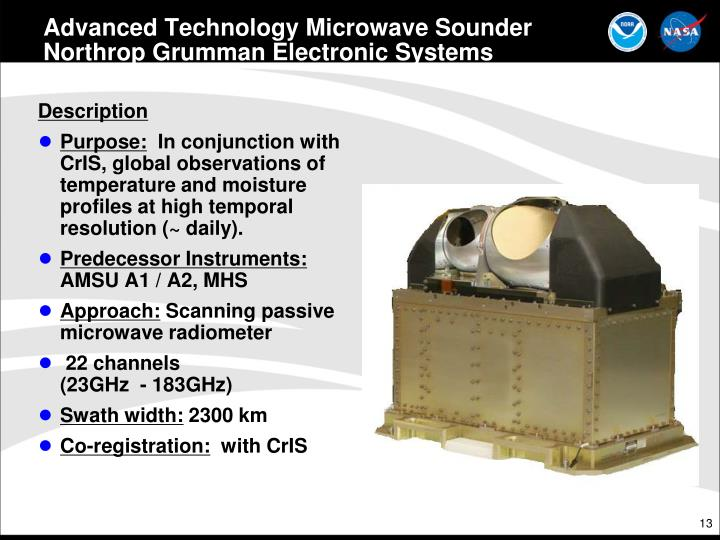 Advanced Technology Microwave Sounder