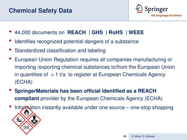 Chemical Safety Data