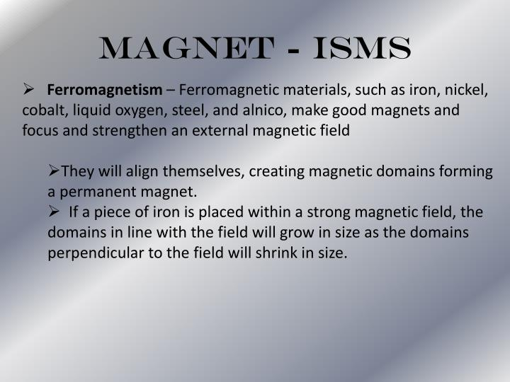 Magnet - isms