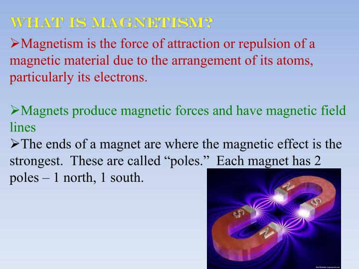 What is Magnetism?