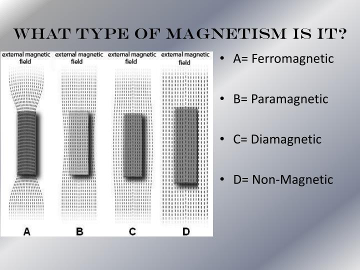 What Type of Magnetism is it?