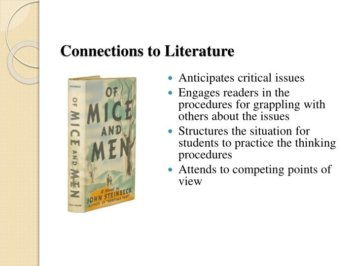 Connections to Literature