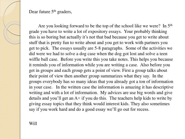 Dear future 5