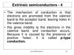 extrinsic semiconductors 4