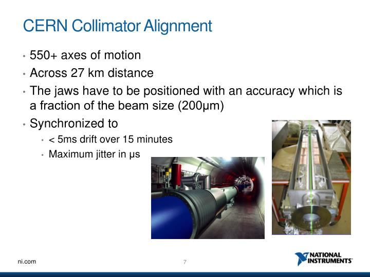 CERN Collimator Alignment