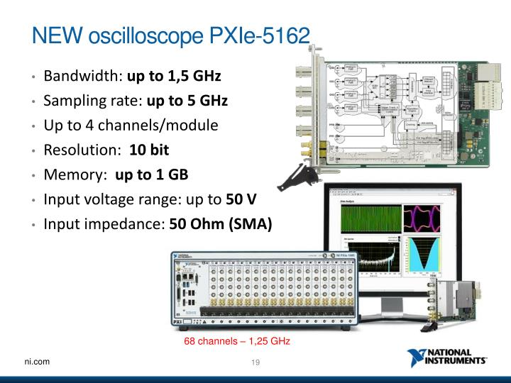 NEW oscilloscope