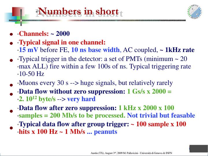 Numbers in short