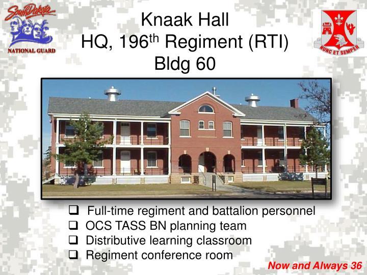 Knaak Hall