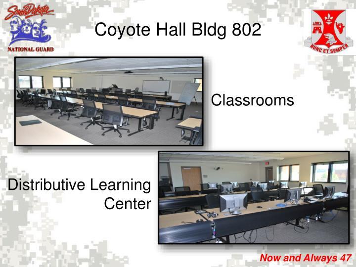 Coyote Hall Bldg 802