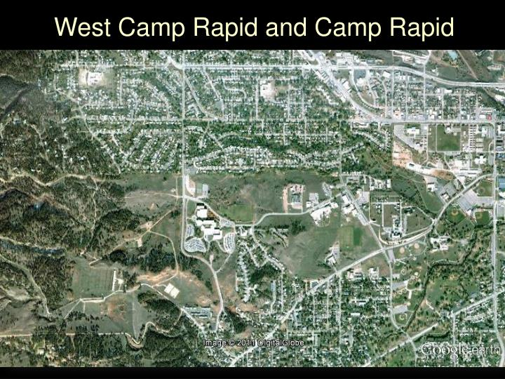 West Camp Rapid and Camp Rapid