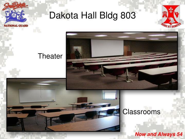 Dakota Hall Bldg 803