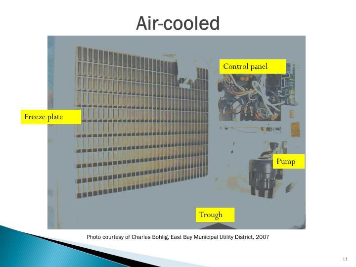 Air-cooled