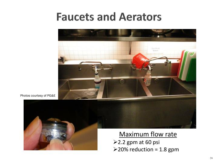 Faucets and Aerators