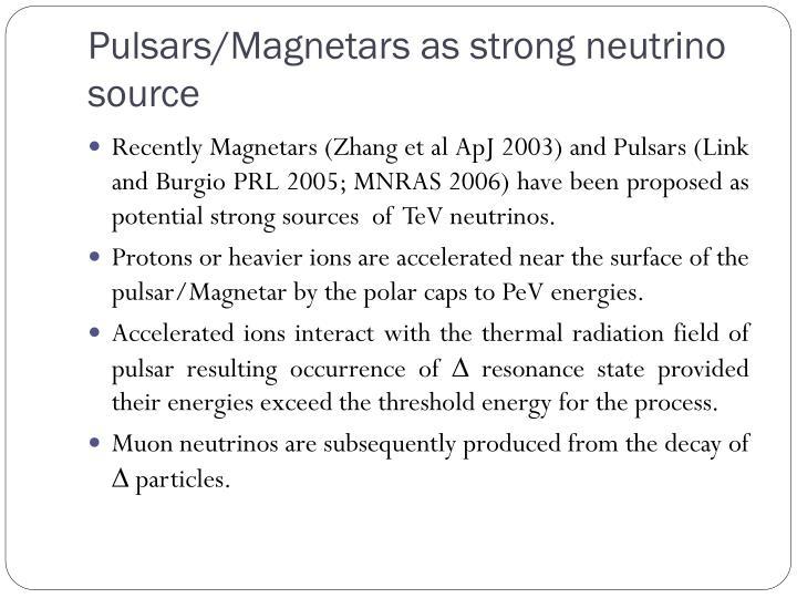 Pulsars/