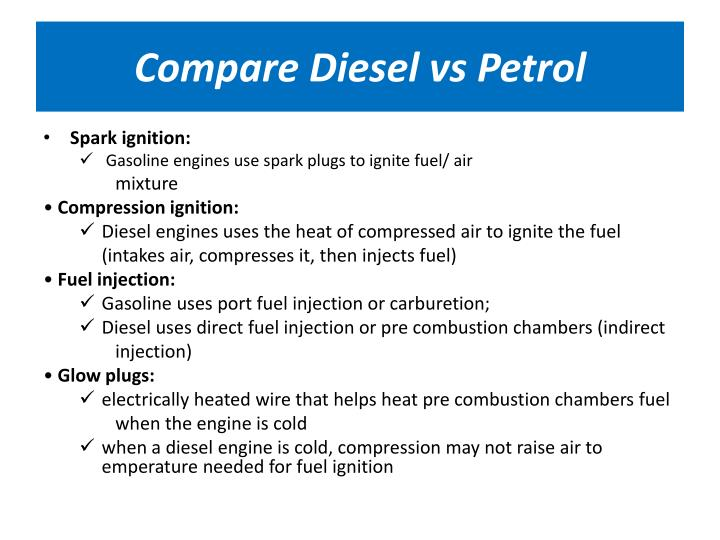 Compare Diesel