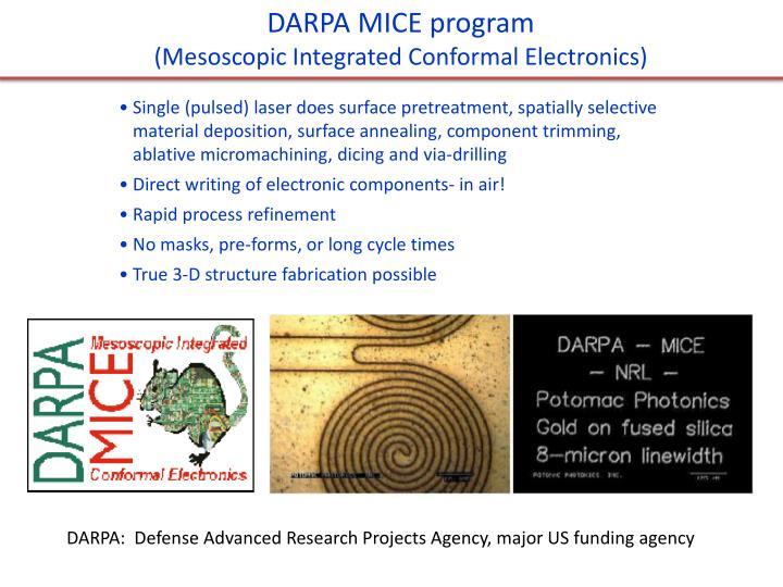 DARPA MICE program