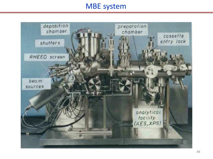 MBE system