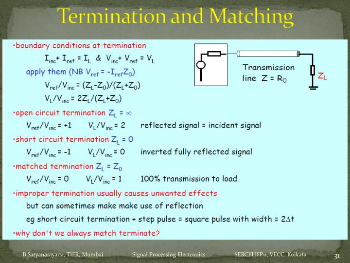 Termination and Matching