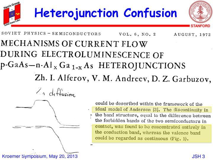 Heterojunction Confusion