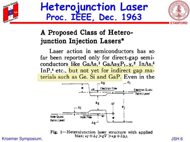 Heterojunction Laser