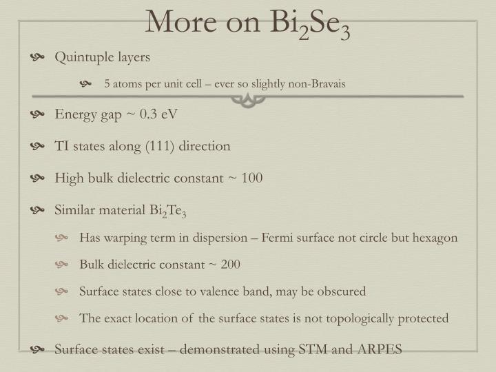 More on Bi