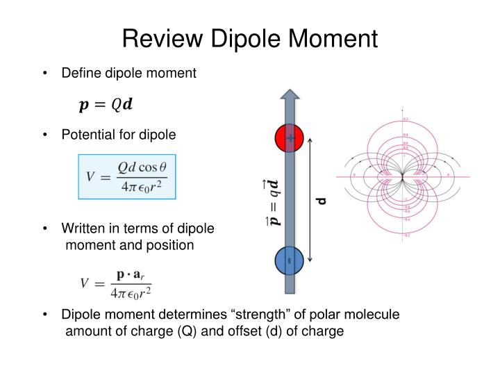 Review Dipole Moment