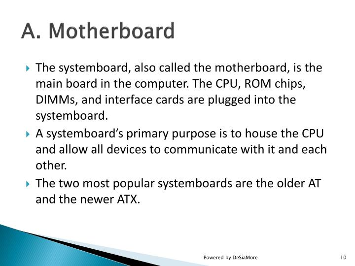 A. Motherboard