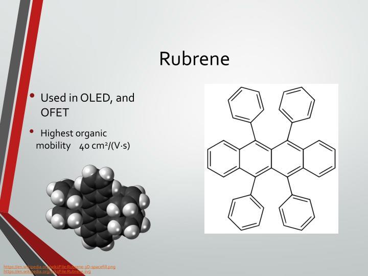 Rubrene