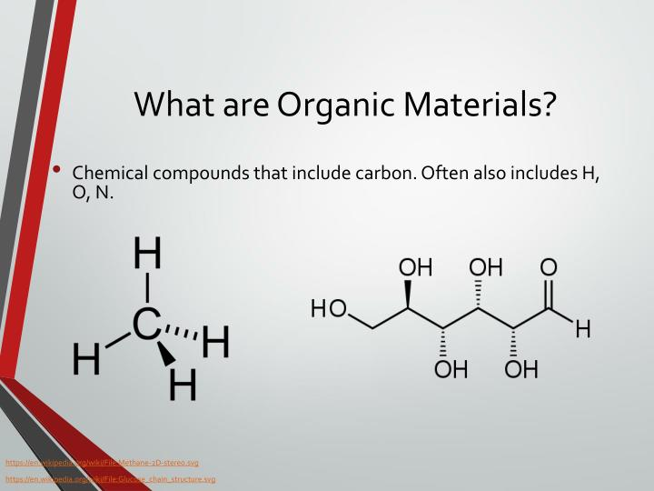 What are Organic Materials?