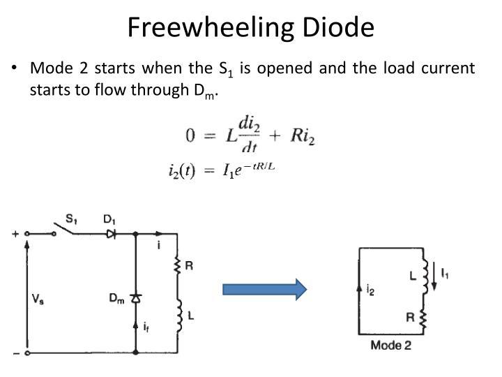 Freewheeling Diode