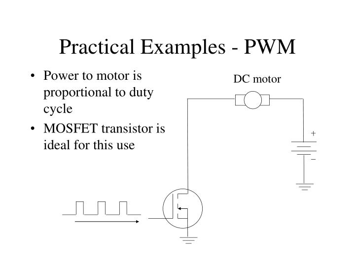 Practical Examples - PWM