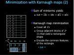 minimization with karnaugh maps 22