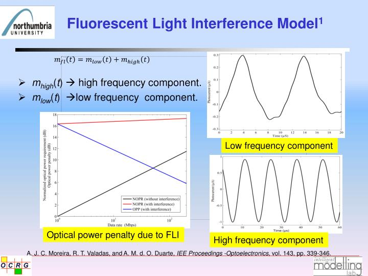 Fluorescent Light Interference Model