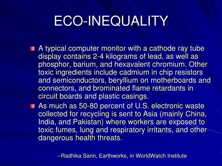 ECO-INEQUALITY