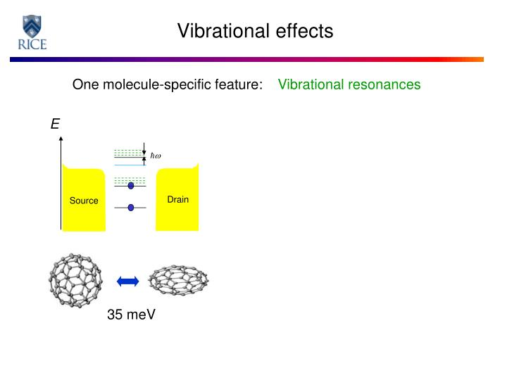 Vibrational resonances