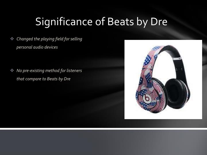 Significance of Beats by