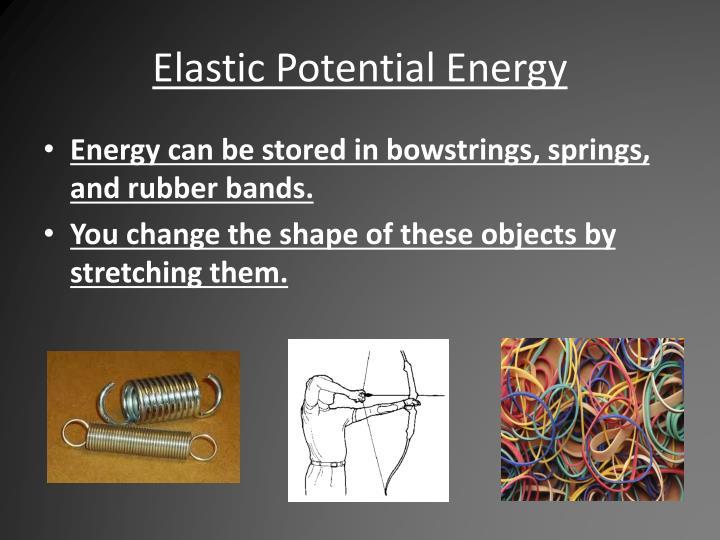 Elastic Potential Energy