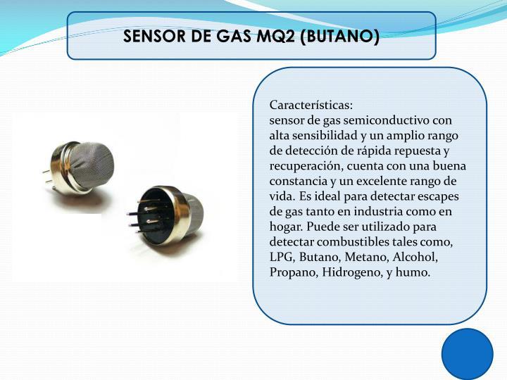 SENSOR DE GAS MQ2 (