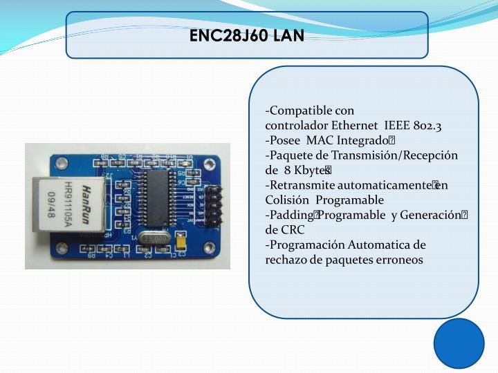 ENC28J60 LAN