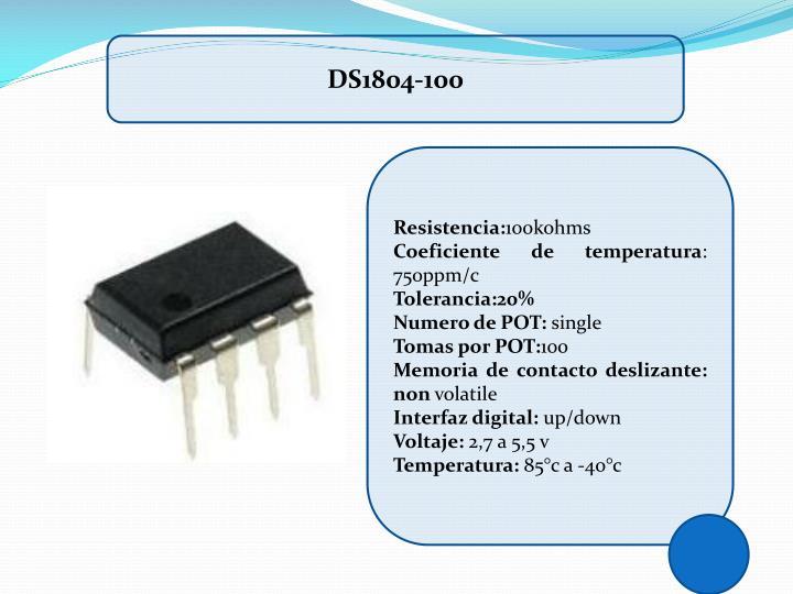 DS1804-100