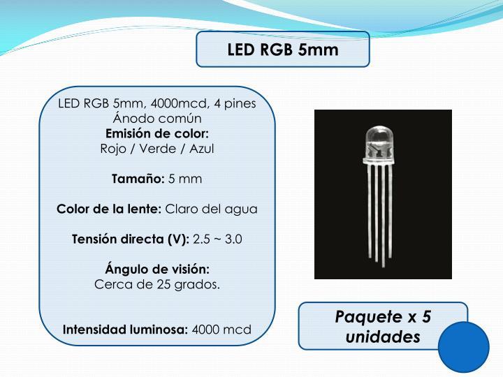 LED RGB 5mm