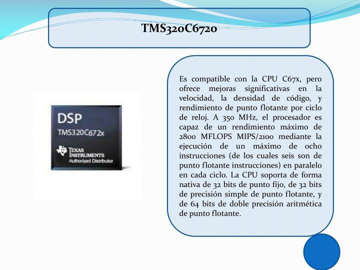 TMS320C6720