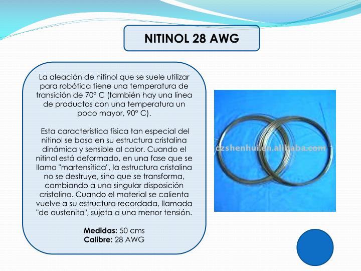 NITINOL 28 AWG